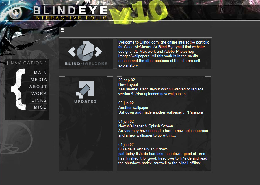 Blind Eye Version 9 ( I called it 10 for some reason)
